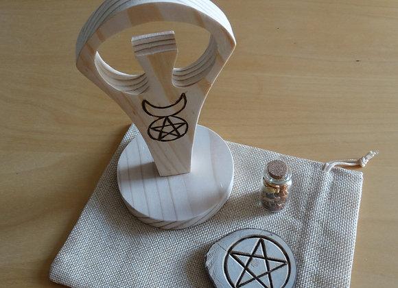 Deus Wicca, para Altar