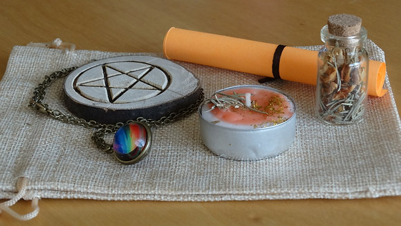Kit Ritual Wicca - Sucesso