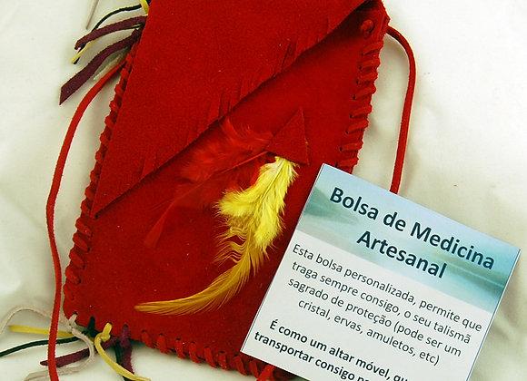 Bolsa de Medicina Artesanal - Vermelho