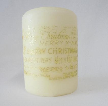Vela Merry Christmas