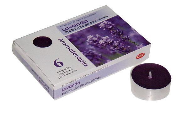 Velas Tealight Aroma - Lavanda