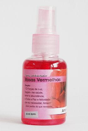 Spray ambientador Rosas Vermelhas