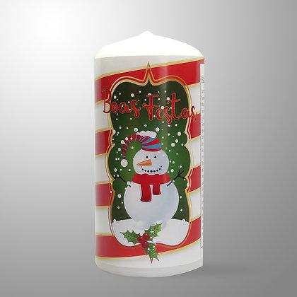 Velão de Natal - Boneco de Neve