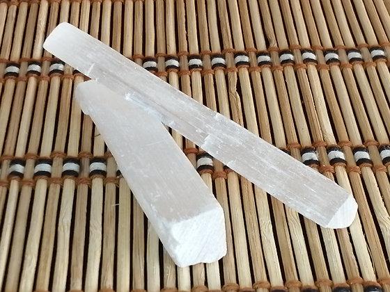 Barrinha de Selenite Branca