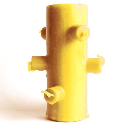 Velão 7 Mechas Amarelo