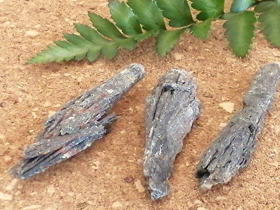 Pedra Vassoura da Bruxa, Cianita Preta