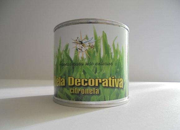 Vela Decorativa Citronela