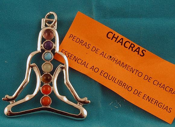 Medalha dos Chacras - Corpo