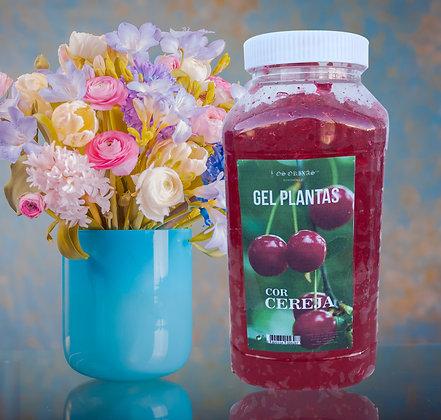 Gel Plantas - Cor Cereja