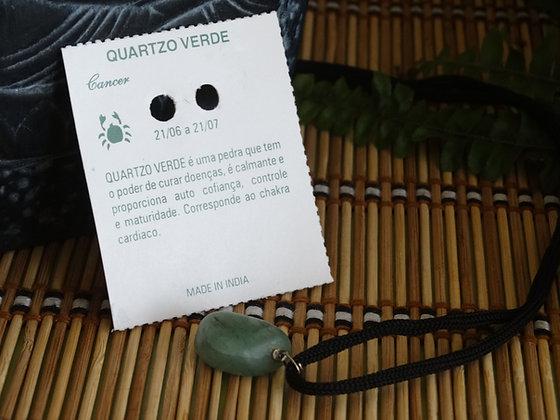 Fio Quartzo Verde - Caranguejo