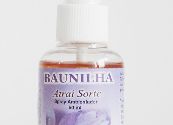 Spray ambientador Baunilha