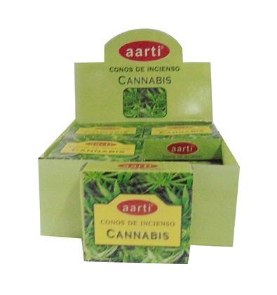 Incenso Cannabis (em cone)