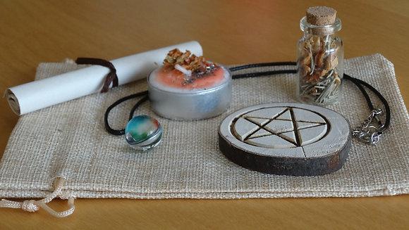 Kit Ritual Wicca - Corta Negatividades