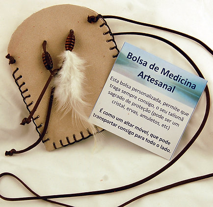 Bolsa de Medicina Artesanal - Creme