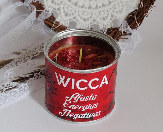Vela em lata Wicca - Afasta Negatividades