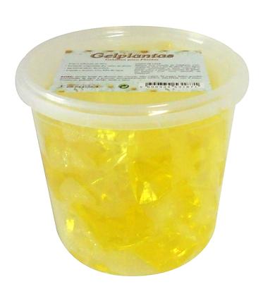 Gel Cubos Amarelo