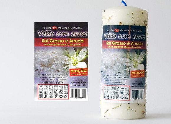 Velão Ervas Sal Grosso