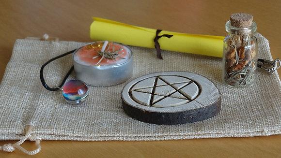Kit Ritual Wicca - Abundância