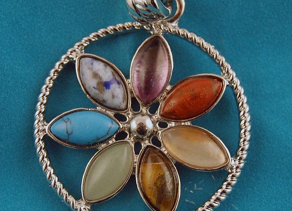 Medalha dos Chacras - Flor