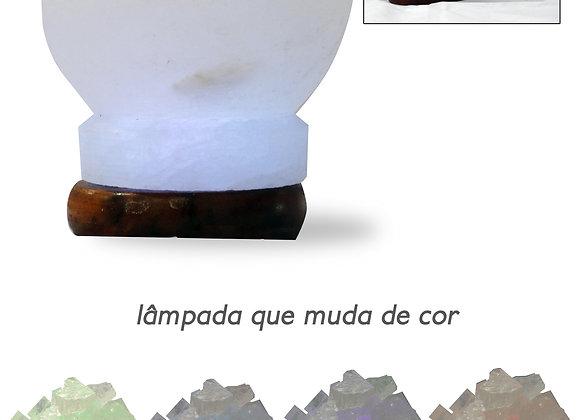 Candeeiro de Sal USB - Taça