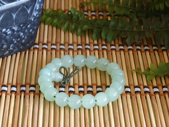 Pulseira Tibetana - Jade