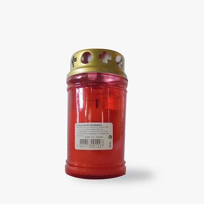 Círio 30 L vermelho