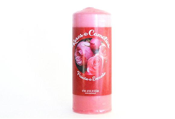 Rosas e Camélias
