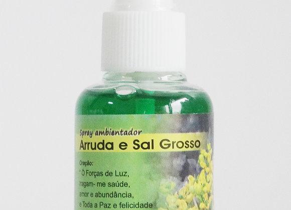 Spray ambientador Arruda e Sal Grosso