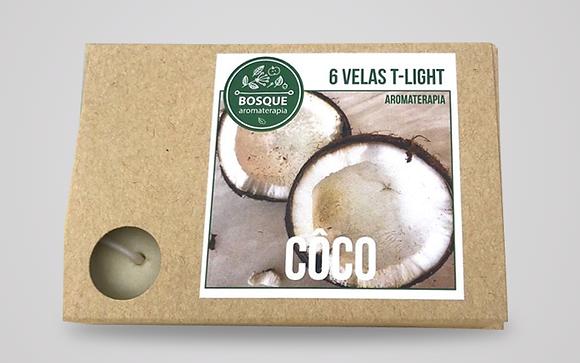 Velas Tealight Aroma - Coco