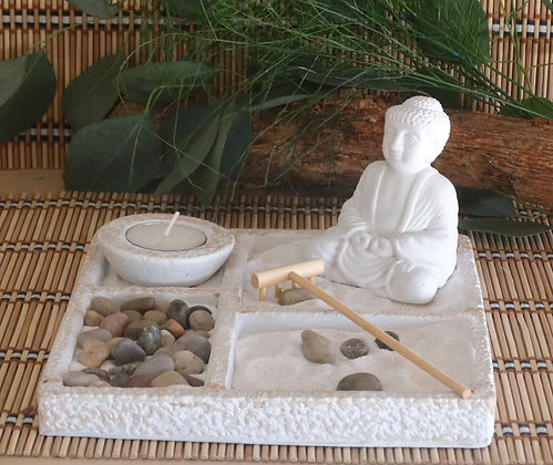 Jardim Zen Peq. Quadrado