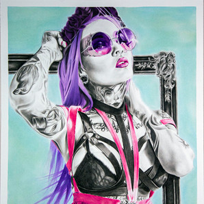 Tattoo Woman Purple Hair.jpg