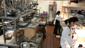 Flik crew overcomes staffing, supply, and COVID issues to feed students and staff.