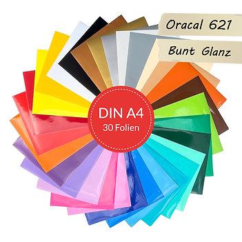 Vinylfolien-Set Oracal 621 Glanz 30er (D009 V2)