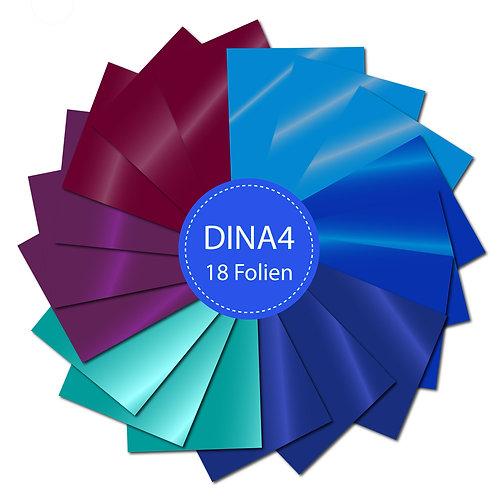 18er-Set Klebefolien Blau Violett Oracal 751C (P050)
