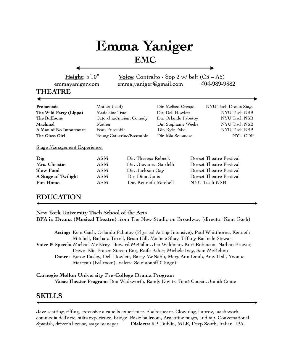 Theatre Resume (no headshot) 11.20.20.jp