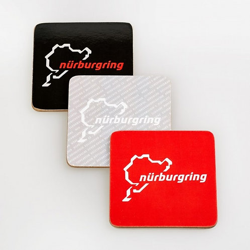 """【預訂】Coaster """"Nürburgring"""" 12個杯墊套裝"""