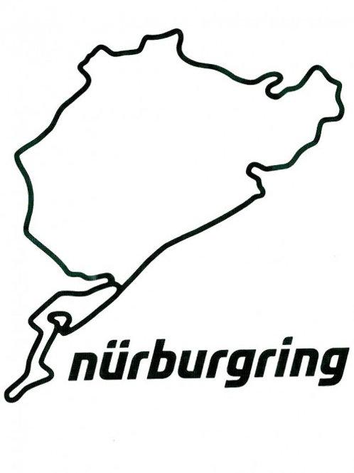 【預訂】Sticker Nürburgring 12cm