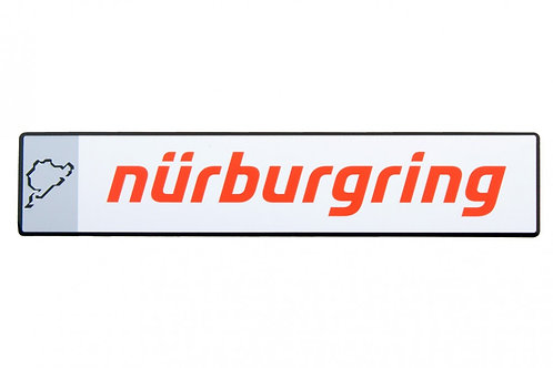 【預訂】Metal Plate Nürburgring FS15