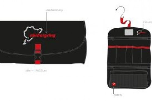 【預訂】Travel bag Nürburgring FS19 旅行洗漱包