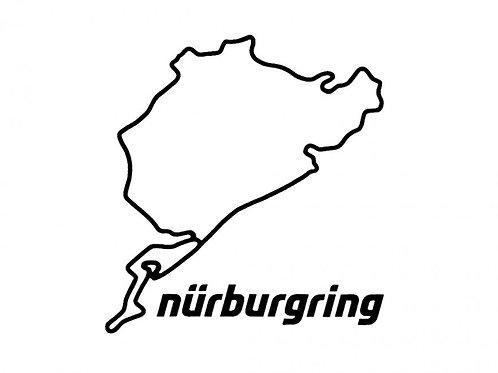 【預訂】Sticker Nürburgring 8cm