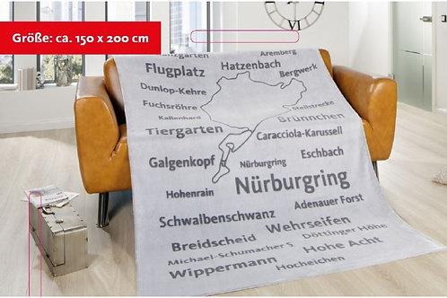 "【預訂】Micro fiber blanket ""Nürburgring"" FS18"