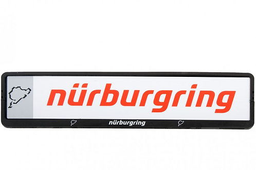 "【預訂】License plate holder ""Nürburgring"" 車牌外框"