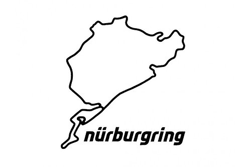 【預訂】Wall Decal Nürburgring