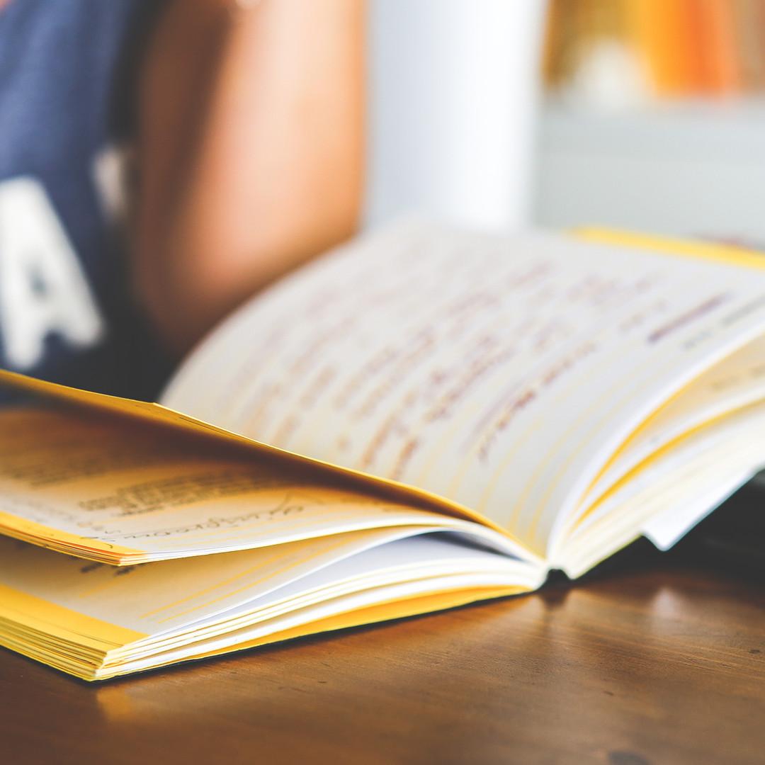 Abra o caderno
