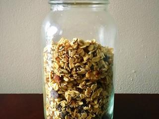 Homemade Vegan Oat Granola