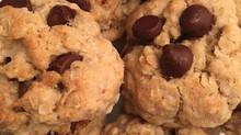 Vegan Chocolate Chip Oatmeal Cookies