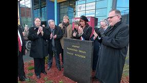 Inauguration de la plaque