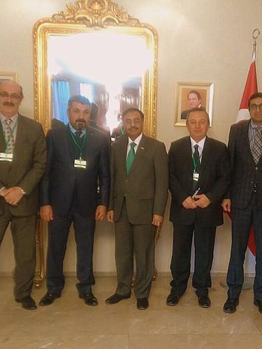 Pakistan Büyükelçisine Ziyaret