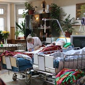 Медсестра в хосписе