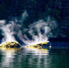 Steaming Rocks, Alaska